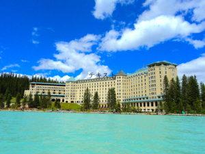 レイクルイーズのホテル